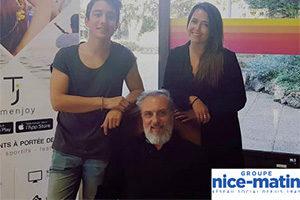 Axel Hutin, Mathildes Aylies et Alain Fagot, cofondateurs de Timenjoy