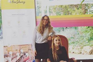 Clara Baglione et Houda Behidji, fondatrices de Bee Shary