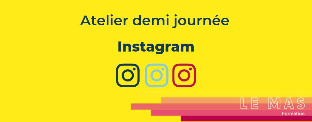 Formation Atelier initiation instagram