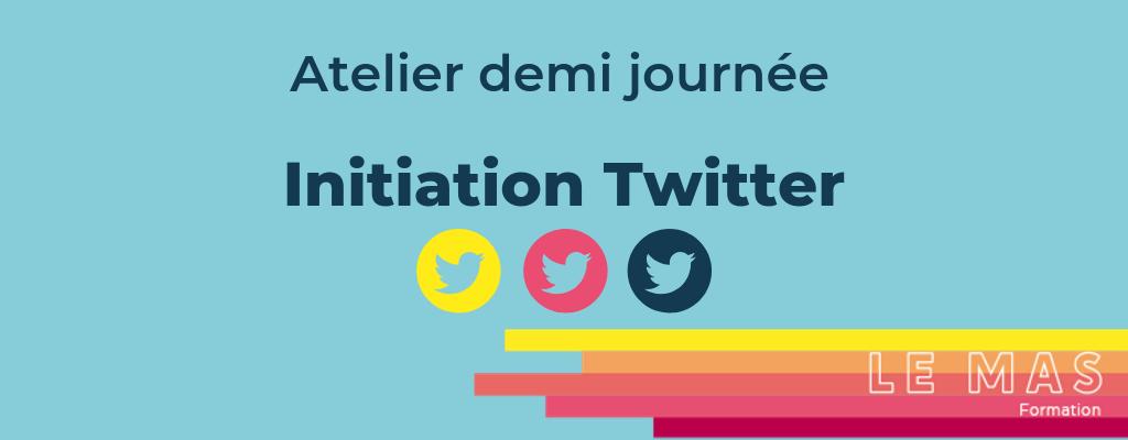 Formation Atelier initiation twitter